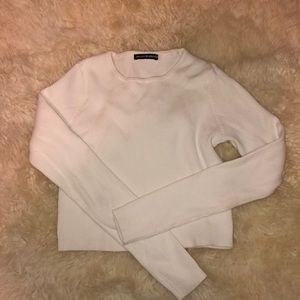 NWOT brandy melville ribbed top